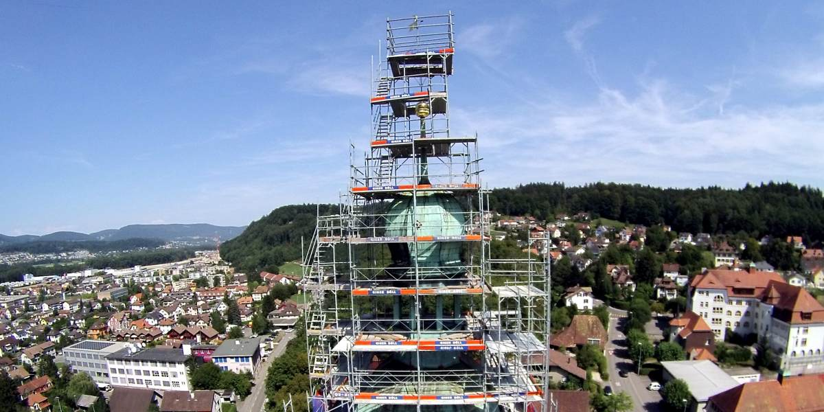 Kirchturmgerüste