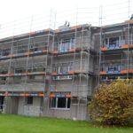 Wohnüberbauungen und Wohnblöcke